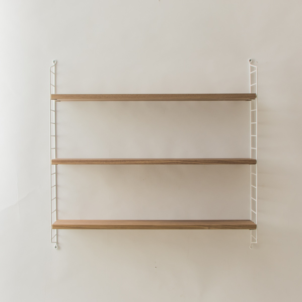 string system BASIC 78×20 (ウォルナット/ホワイトフレーム)