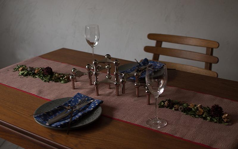 ビンテージテーブル ウィンターコーディネート