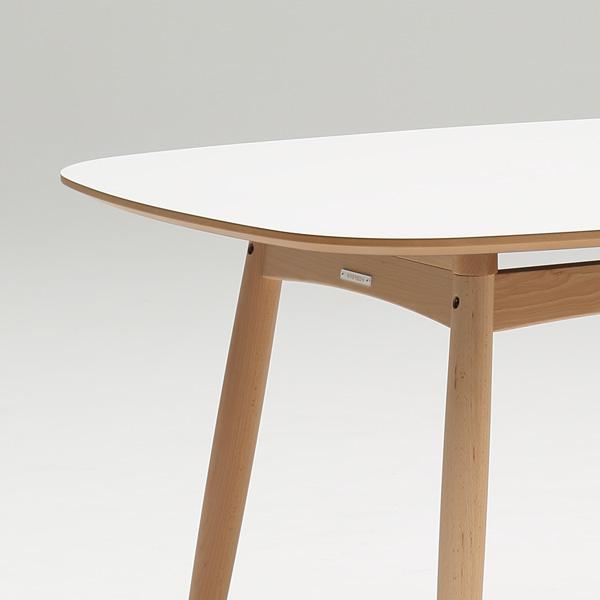 カリモク60+ Dテーブル ピュアビーチ