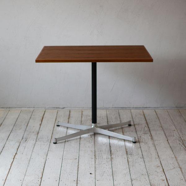 カフェテーブルチーク(テレワーク・デスク・リモートワーク・リビング学習) w800×d600