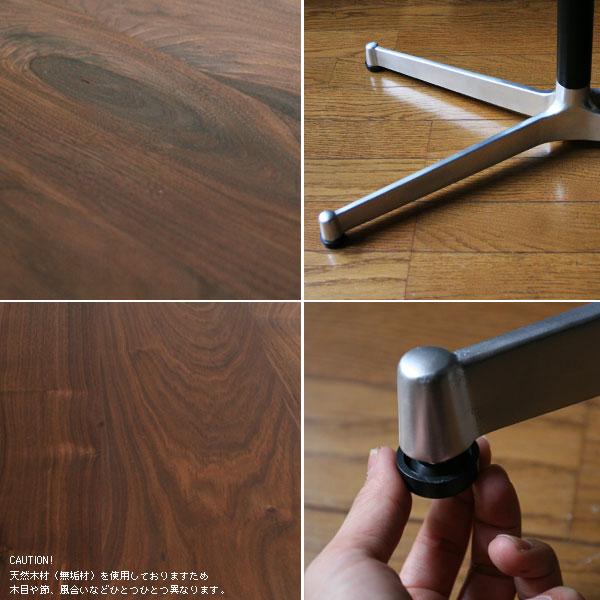 カフェテーブル無垢ウォールナット(テレワーク・デスク・リモートワーク・リビング学習) w800×d600