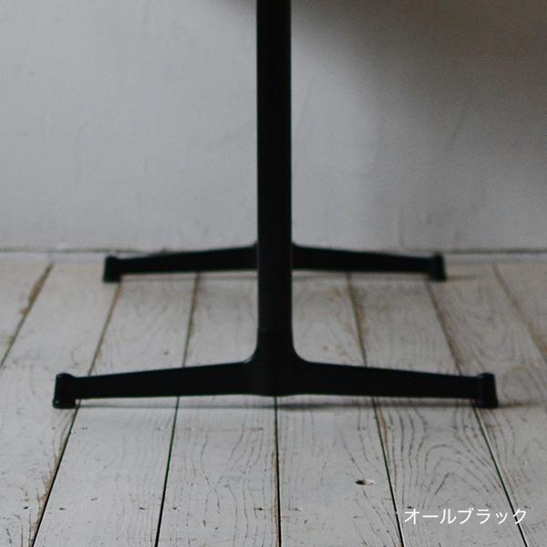 カフェテーブル無垢オーク(テレワーク・デスク・リモートワーク・リビング学習) w1200×d700