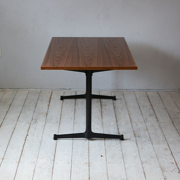 カフェテーブルチーク(テレワーク・デスク・リモートワーク・リビング学習) w1200×d700