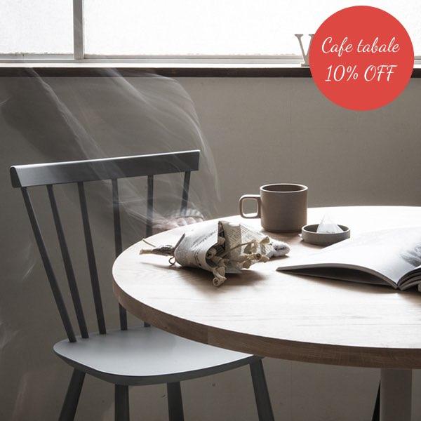 【テーブル10%off】テレワークスタイルセット (テレワーク・デスク・リモートワーク・リビング学習) j46チェア カフェテーブル無垢