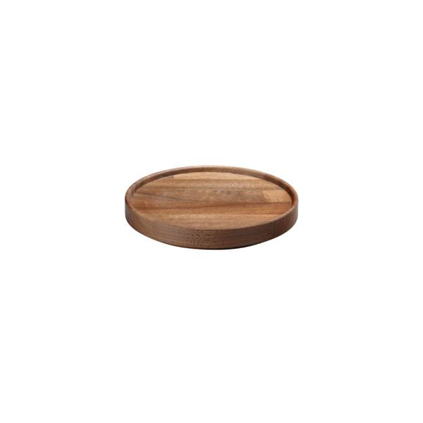 HASAMI PORCELAIN|トレイ φ145×h21(walnut)
