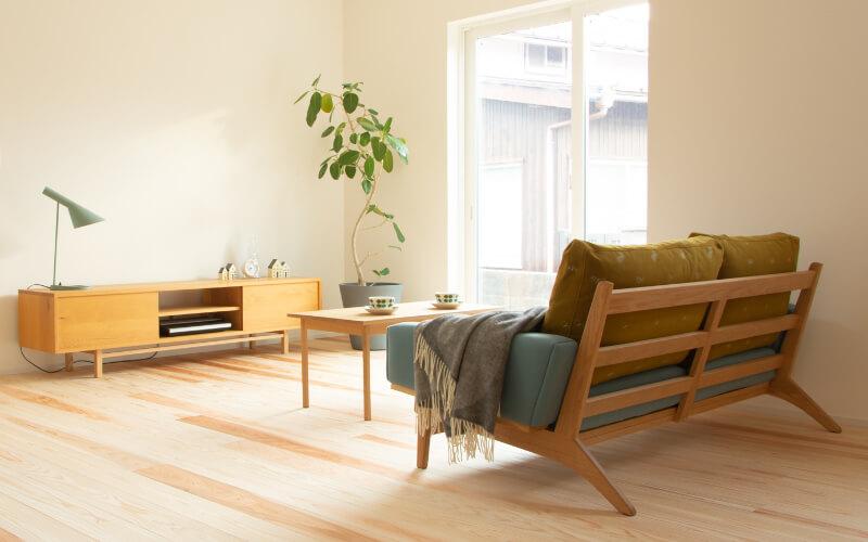 Low Sofa 2.5st dop choucho コーディネート