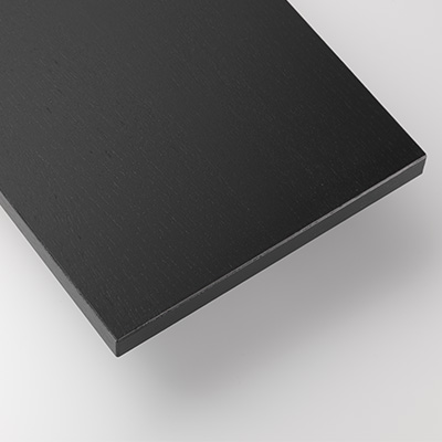 stringシェルフシステム 棚板78×30 ブラックステインドアッシュ材 (3枚セット)