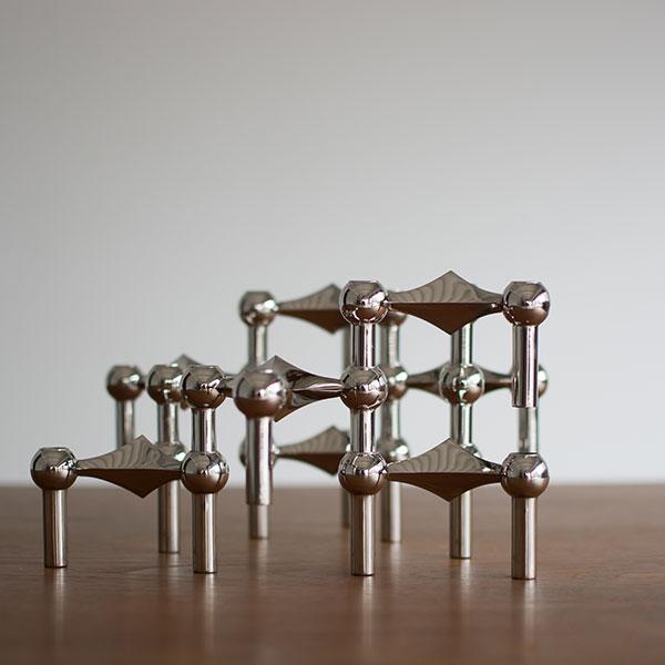 STOFF Nagel | ストッフ キャンドルホルダー chrome