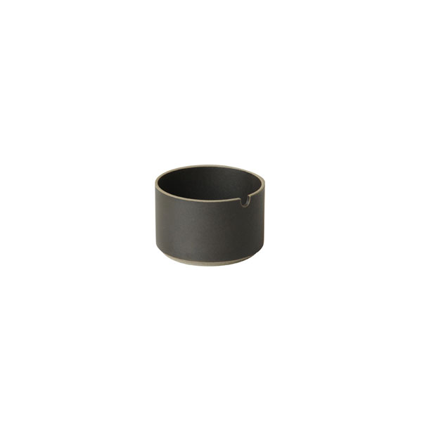 HASAMI PORCELAIN シュガーポット φ85×h55 (black)
