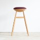 Olive Barstool(Natural Oak)