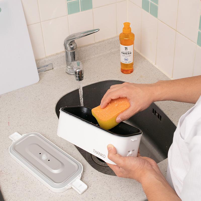 【便利グッズ】おひとりさま用 超高速弁当箱炊飯器 ≪送料込み≫