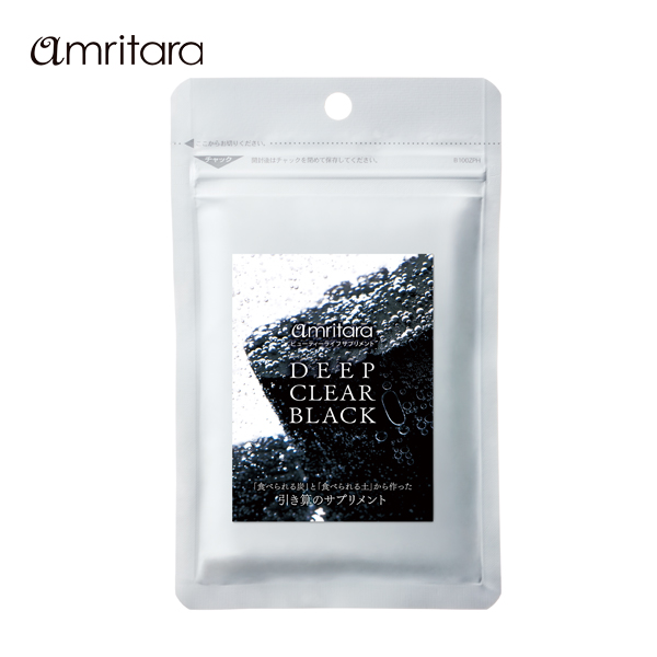 アムリターラ ディープ クリア ブラック 60粒(p1/amritara サプリメント サプリ 健康食品/4582341744868)