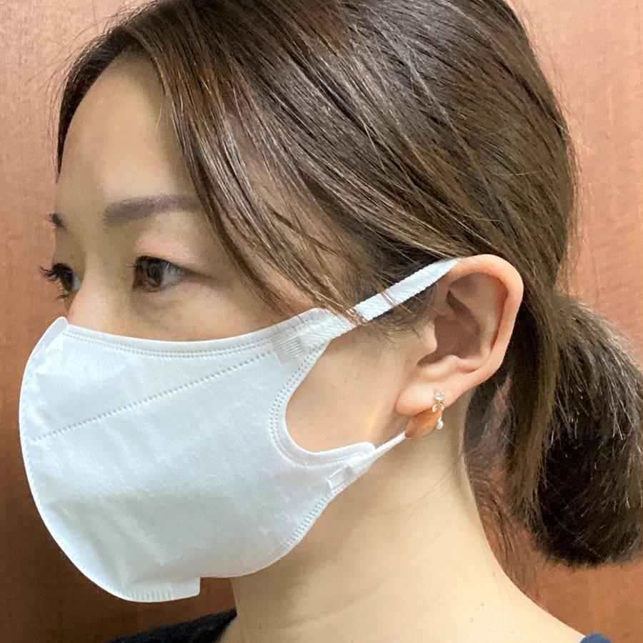ナチュラムーン オーガニックコットン マスク ふつうサイズ 大容量 30枚入(z/NaturaMoon 不織布マスク フェイスマスク 使い捨て オーガニックコットン 日本製 ナチュラルムーン/4935137804756)