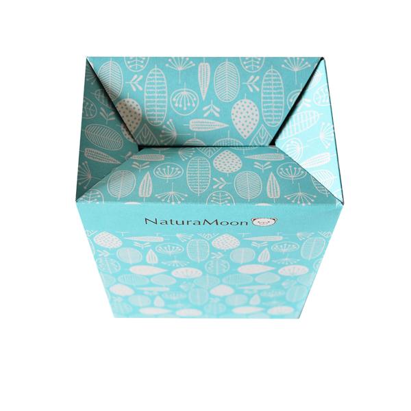 【当店限定】ナチュラムーン 使い捨て サニタリーボックス [10枚入](c5/ 汚物入れ おしゃれ/4935137804220)