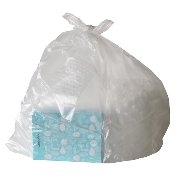 ナチュラムーン 使い捨て サニタリーボックス (10枚入) (c5/ 汚物入れ おしゃれ ナチュラルムーン/4935137804220)