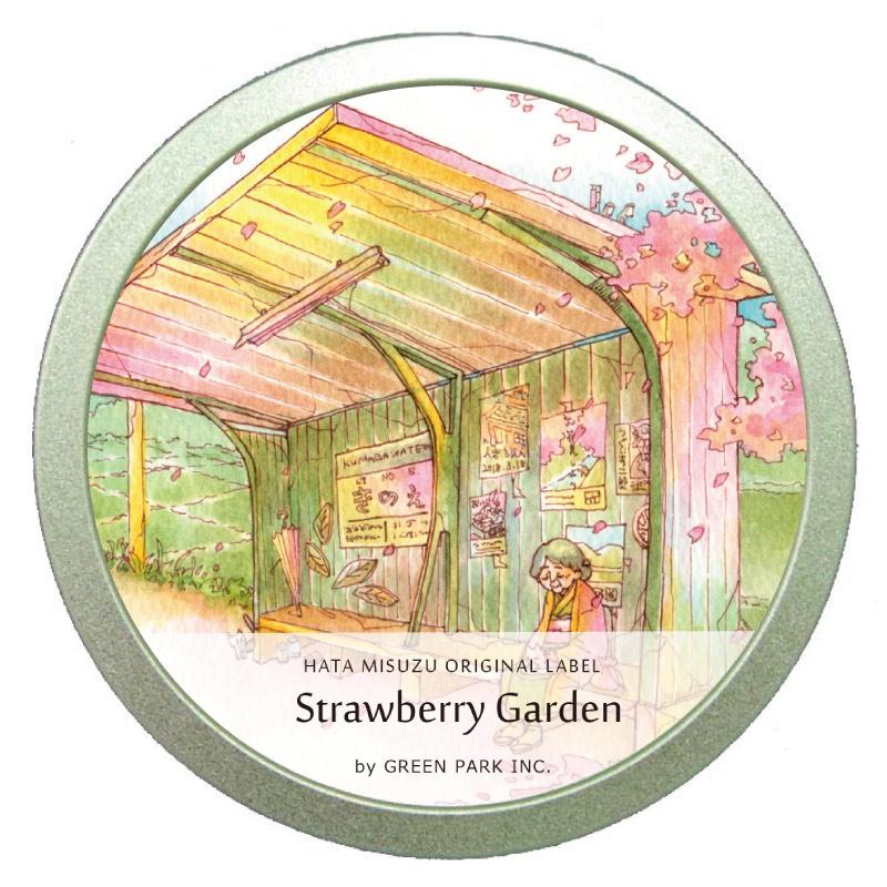 ストロベリーガーデン缶 /  GREEN PARK Inc. × はた みすず