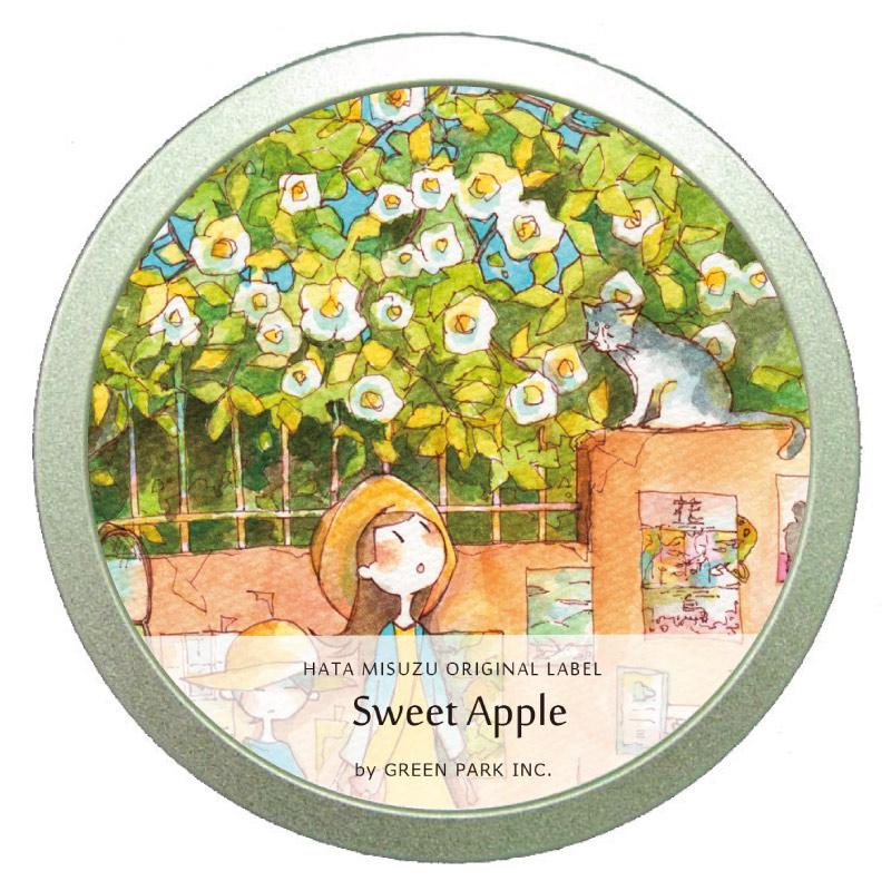 スイートアップル缶 /  GREEN PARK Inc. × はた みすず
