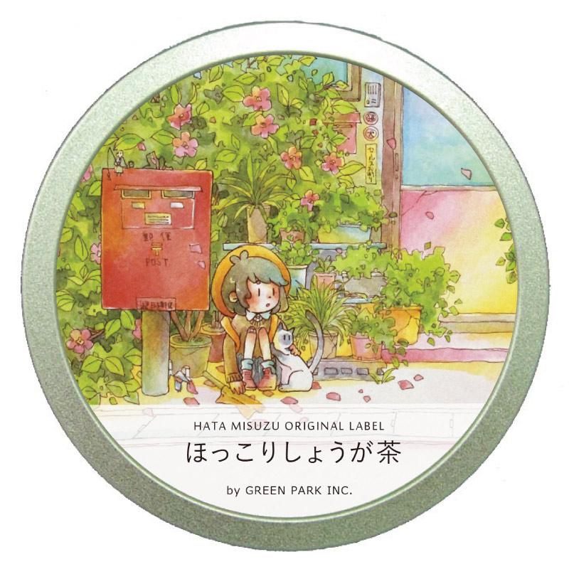 ほっこりしょうが茶 缶 /  GREEN PARK Inc. × はた みすず