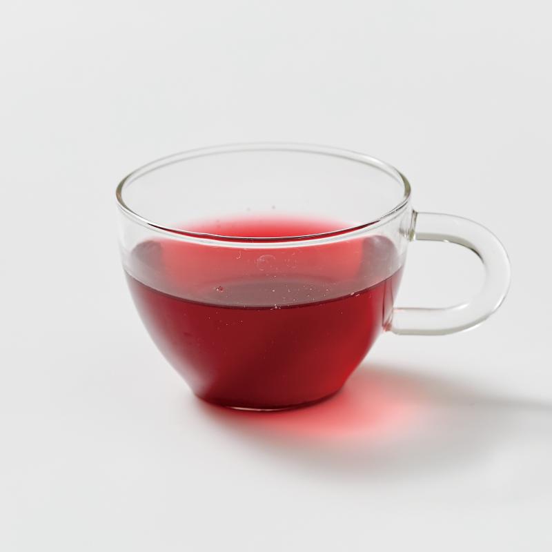 いちごのマテ茶 缶 /  GREEN PARK Inc. × はた みすず