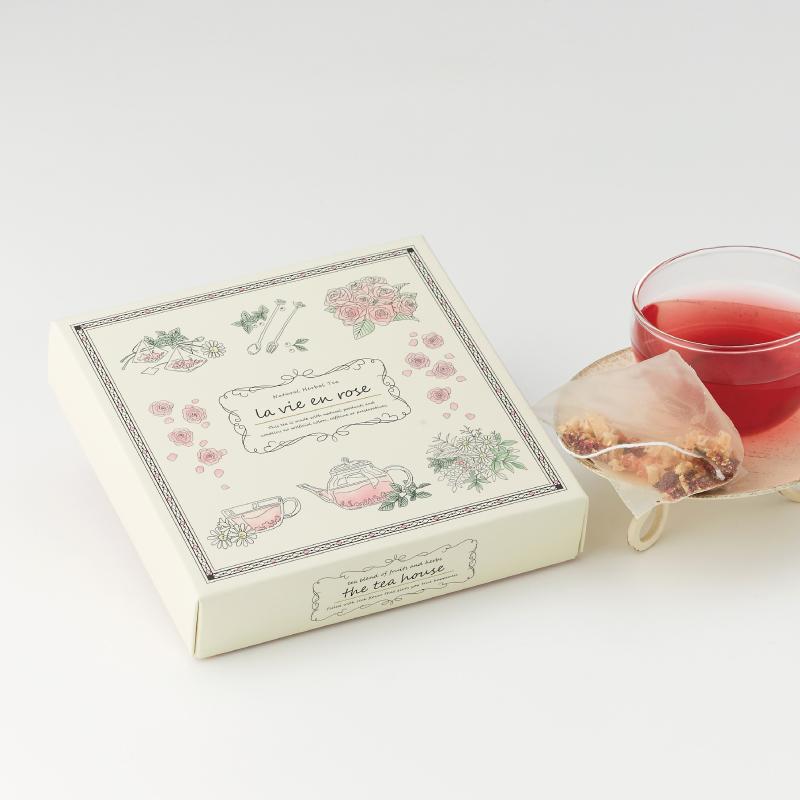 The Tea House Box  ラヴィアンローズ