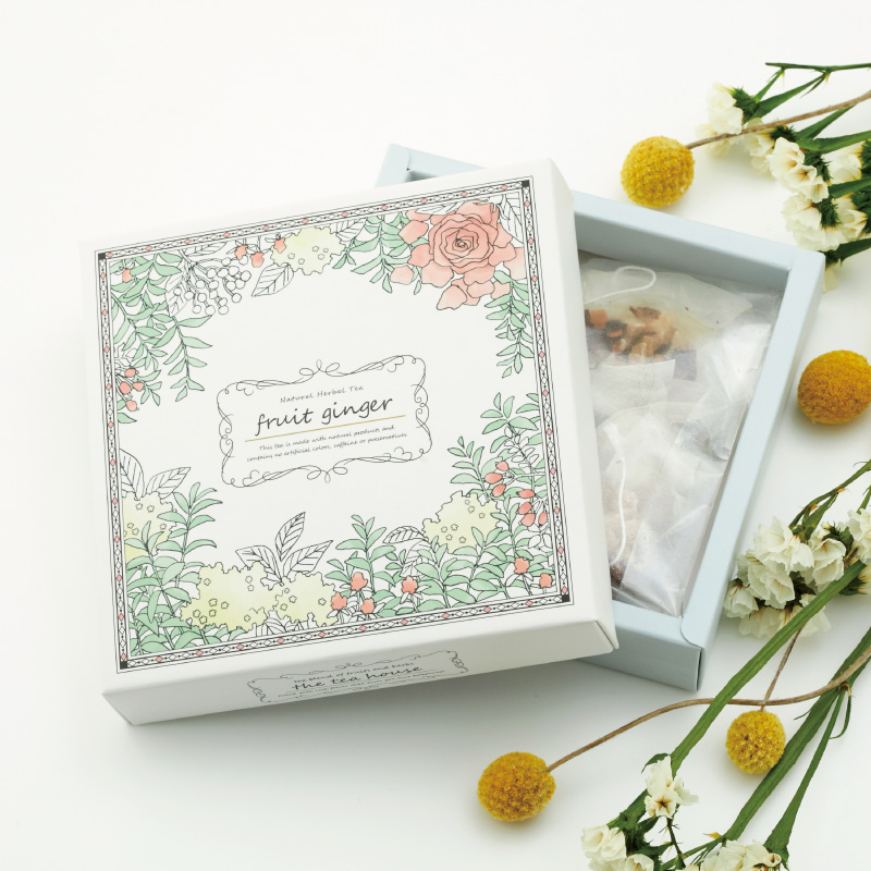The Tea House Box フルーツジンジャー(ほっこりしょうが茶)