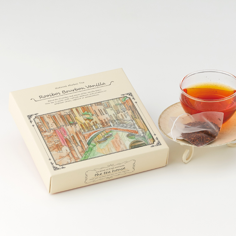ルイボスバーボンバニラ&ストロベリーガーデン 人気ブレンド ティーパック2種ギフト