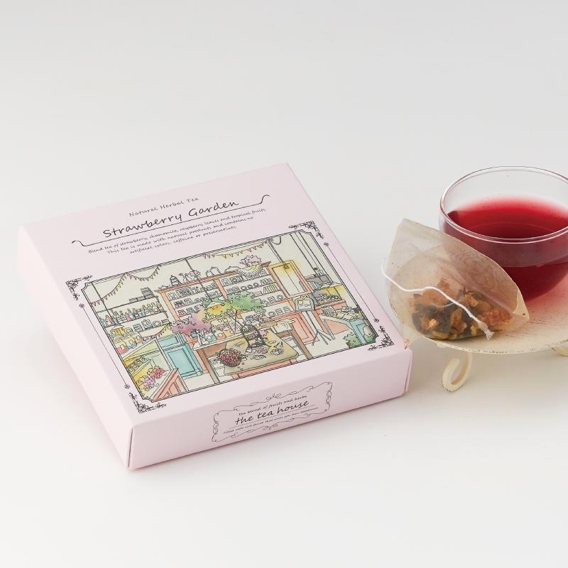 ストロベリーガーデン&フルーツジンジャー(ほっこり生姜茶) 人気ブレンド ティーパック2種ギフト
