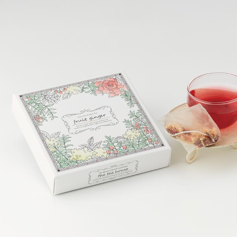 人気ブレンド ティーパック2種ギフト フルーツジンジャー(ほっこり生姜茶)&ラヴィアンローズ
