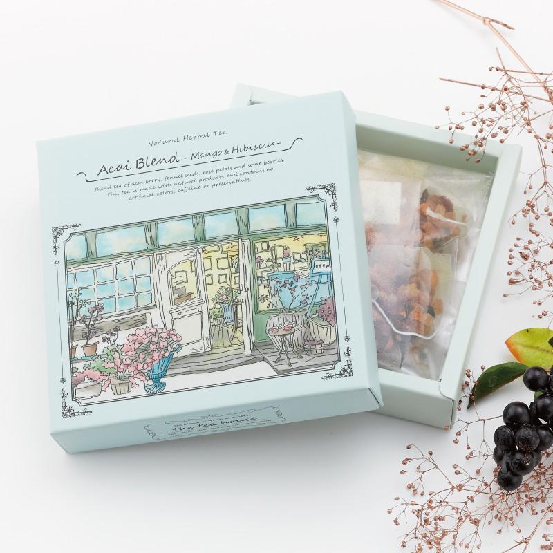 アサイー マンゴーハイビスカス The Tea House Box