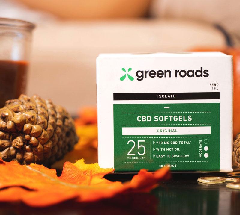 CBDソフトゲル 750mg GreenRoads
