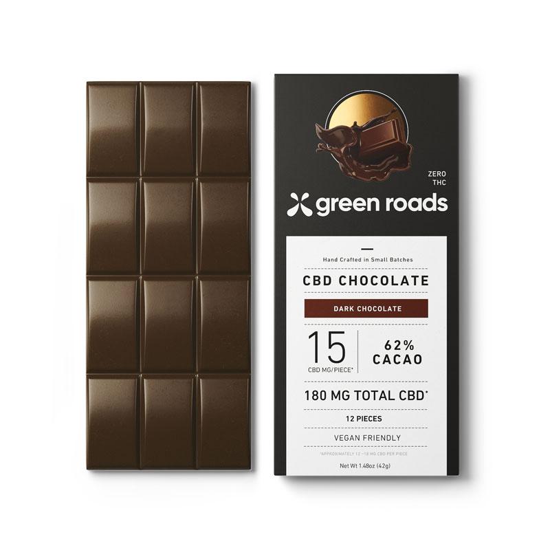 CBD チョコレートバー 180mg GreenRoads