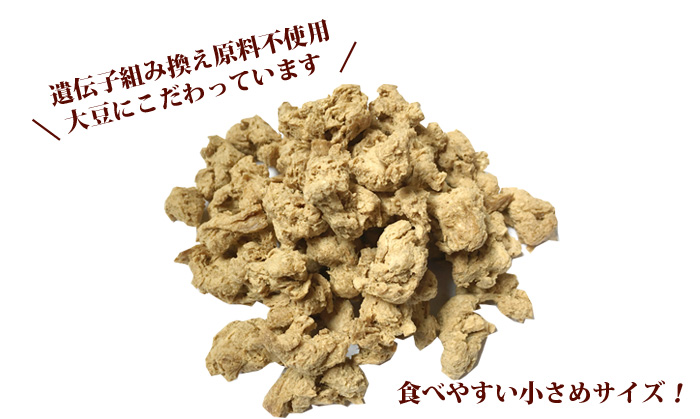 【業務用】大豆だけで作った大豆ミート ブロックタイプ(大豆肉、大豆粉) 1kg st jn
