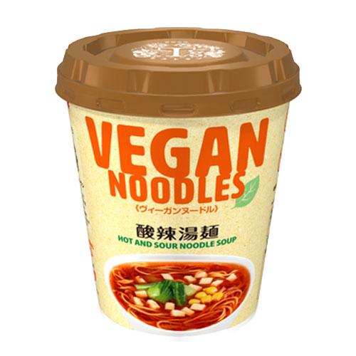 ヴィーガンヌードル酸辣湯麺 スーラータンメン 1食 56g ティーズたんたん st j