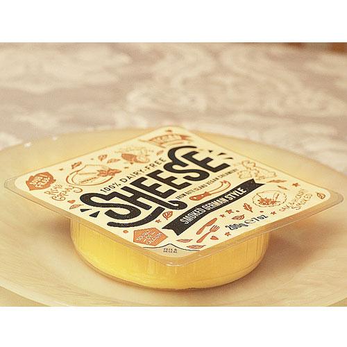 動物原料&乳製品不使用シーズ・スモークジャーマンスタイル(ラウンド) 200g【ベジタリアンチーズ Vegan Cheese sheese】tt jn