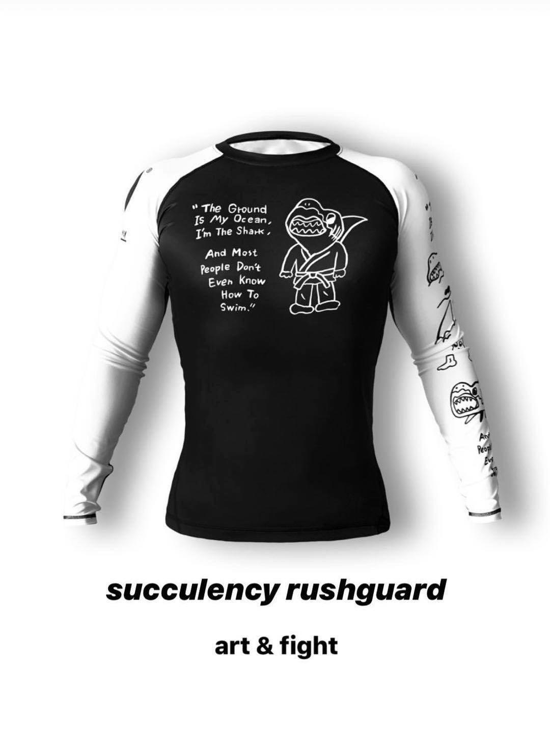 SUCCULENCY  LONG  RUSHGUARD