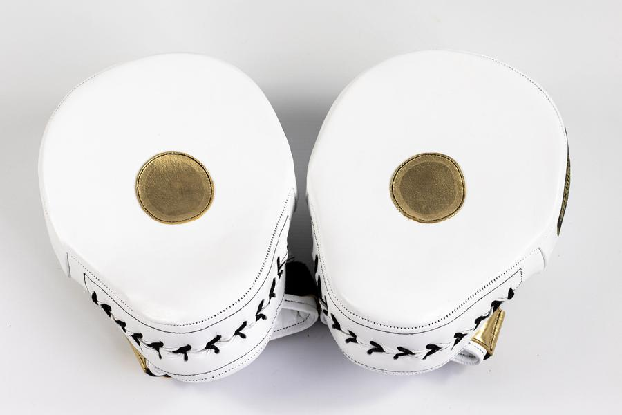 TOP BOXER BOXING MAMBA MITTS (WHITE)