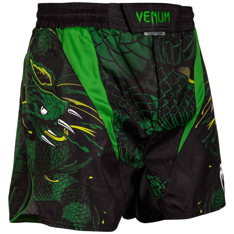 VENUM GREEN VIPER FIGHTSHORTS ヴェナム グリーン・ヴァイパー ファイトショーツ BLACK/GREEN