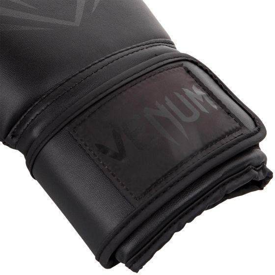 VENUM CONTENDER BOXING GLOVES - BLACK/BLACK/ ブェナム ボクシンググローブ
