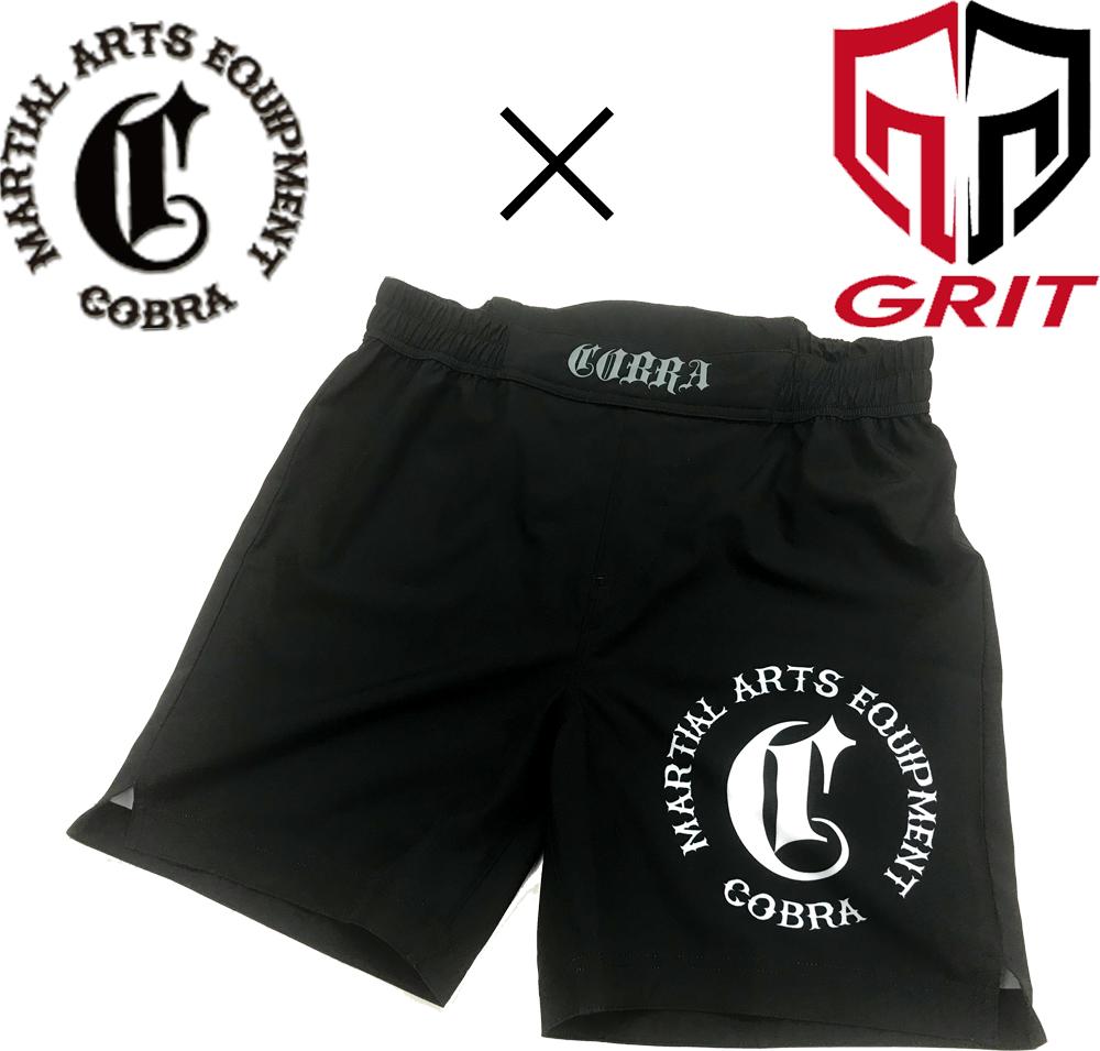 COBRA × GRIT 2007 GRAPPLING SHORT  (Stretch fabric)