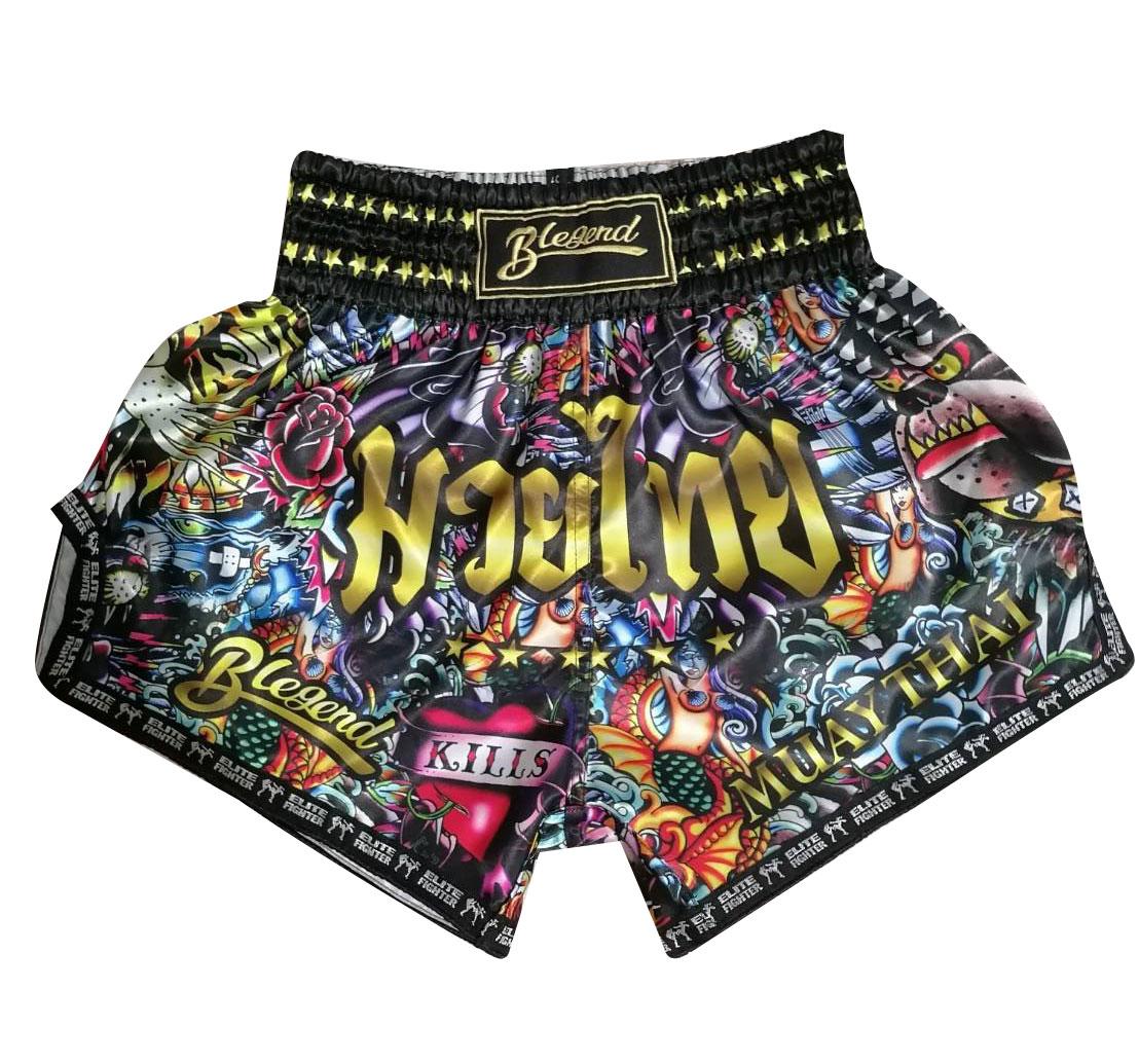 Blegend Boxing Shorts Rumble of Jungle