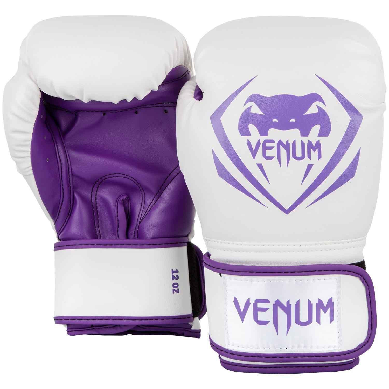 VENUM CONTENDER BOXING GLOVES コンテンダー ボクシンググローブ WHITE/PURPLE