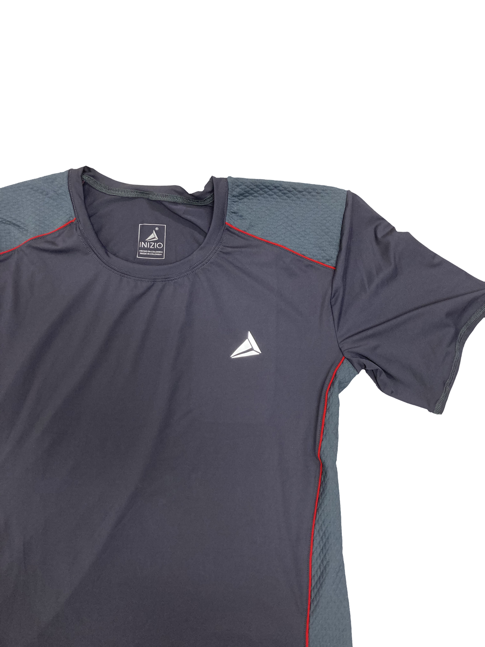 INIZIO(BABALU)POLYESTER SPORTS T-SHIRT GRIS HUMO