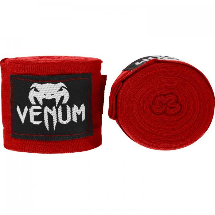VENUM KONTACT BOXING HANDWRAPS RED コンタクト ボクシング ハンドラップ バンテージ (4M)