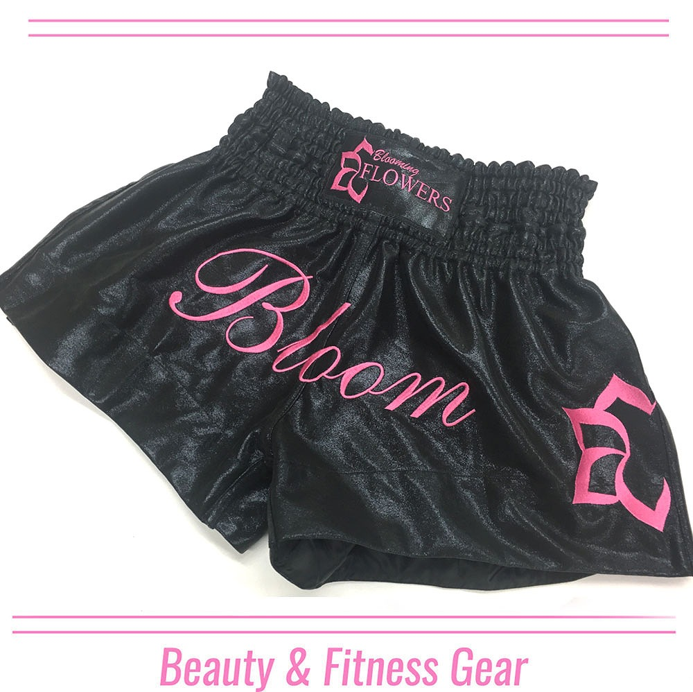 BLOOMING FLOWER MUAY THAI SHORTS