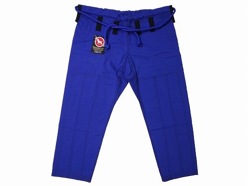 ブルテリア KIDS柔術衣 ウルトラライト 青