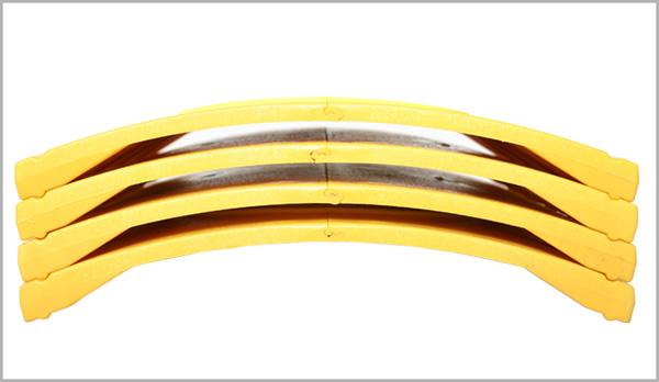 MOOTO(ムート)プラスチック練習用瓦(黄色:強度:22キロ)