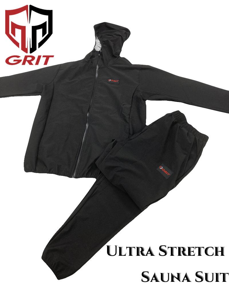 GRIT ULTRA STRETCH SAUNA SUIT サウナスーツ 上下セット
