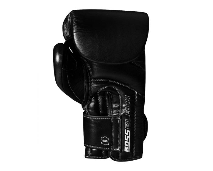 TITLE BOSS BLACK LEATHER BAG GLOVES 2.0