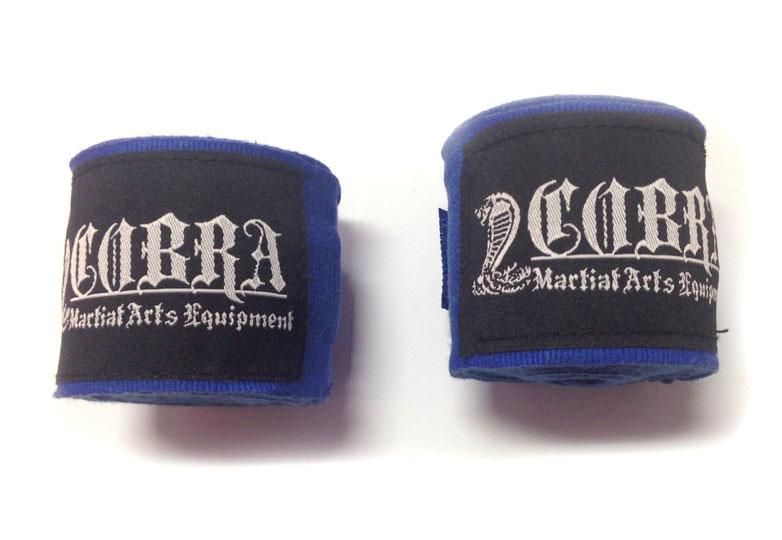 COBRA Hand Wrap BLUE バンテージ 400cm