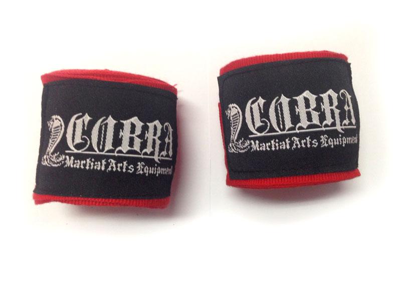 COBRA Hand Wrap RED バンテージ 400cm